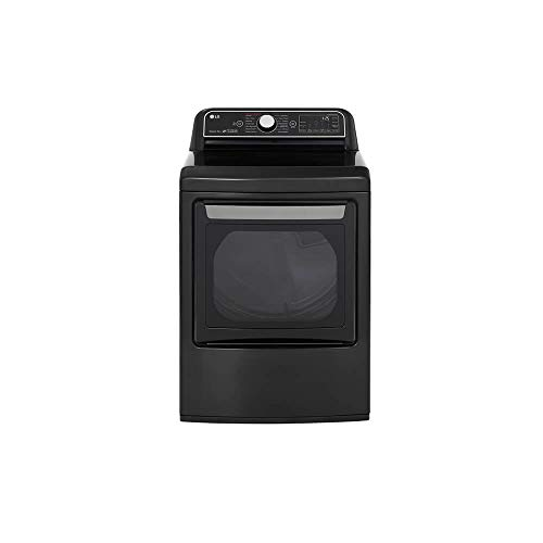 LG DLGX7901BE 7.3 cu.ft. Black Smart Enabled Gas Dryer