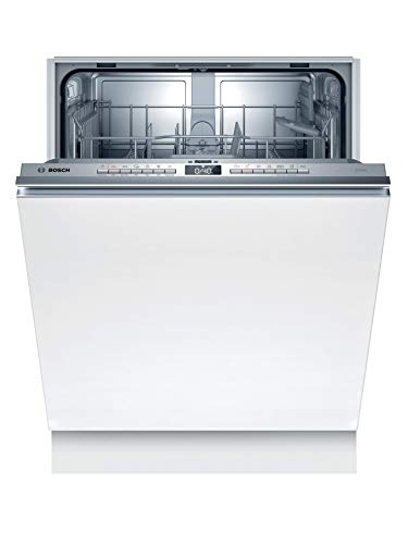 Lavavajillas Bosch SMV4HTX31E Serie 4, totalmente integrado, E, 60 cm, 92 kWh/100 ciclos, 12 MGD, Silence, InfoLight, secado extra, cesta para cubiertos Vario, Home Connect