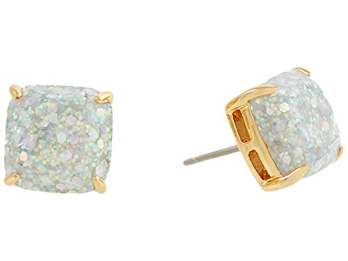 Kate Spade New York Mini Small Square Studs Earrings Opal One Size