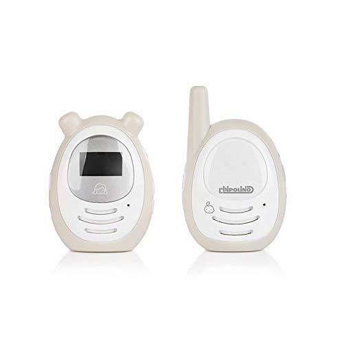 Chipolino Babyphone Zen, 2-Wege-Kommunikation, Adapter o. Batterie, Gürtelclip beige