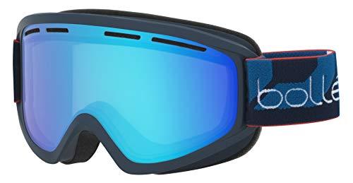 bollé Erwachsene Schuss Skibrillen, Matte Navy, Medium