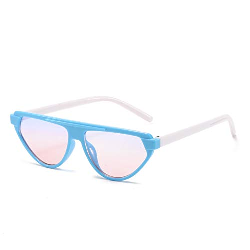 YTYASO Gafas de Sol para niños Gafas de Sol para niños de Moda Gafas de Espejo Unisex UV400 para niños y niñas