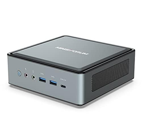 Mini PC Intel Core i5-1135G7 con 12 GB DDR4 / 512 GB SSD Procesador de Cuatro núcleos Mini PC de Escritorio con Windows 10 Pro, HDMI, DP y Thunderbolt 4, WiFi de Doble Banda, BT, USB 3.1 x 4