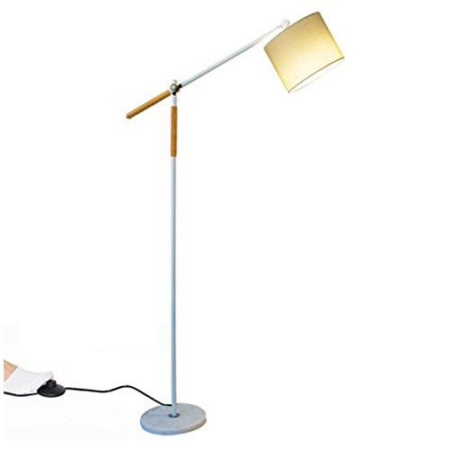 KOKOF Lámpara de pie Pesca Lámpara de Pesca Cálida Lámpara de pie Blanco Protección de Ojos Guía de la lámpara Sala de Estar Dormitorio Dormitorio Alquiler de Oficina Mode Warm Light 12W