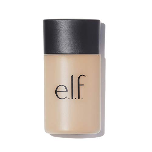 e.l.f, Acne Fighting Foundation, Full Coverage, Lightweight, Evens Skin Tone, Reduces Redness, Fights Blemishes, Buff, 6 Shades, SPF 25, Infused with Salicylic Acid and Tea Tree, 1.21 Fl Oz