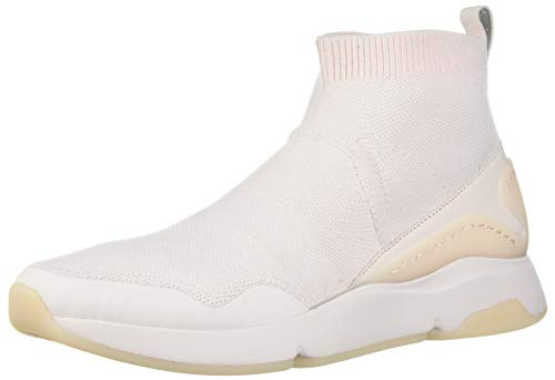 Cole Haan Women's Zerogrand All-Day Slip ON with Stitchlite Sneaker, Knit Leather/Morganite,7.5