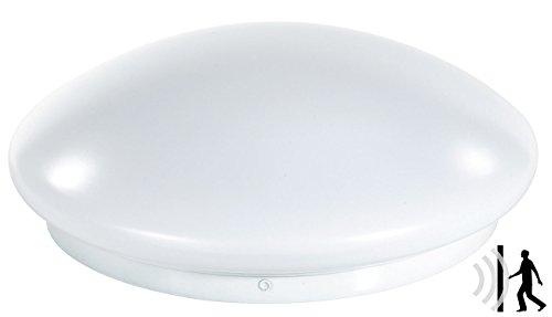 Luminea Lampe mit Sensor: High-Power LED-Lampe mit Radar-Bewegungsmelder, 10 Watt (Deckenleuchte mit Bewegungsmelder)