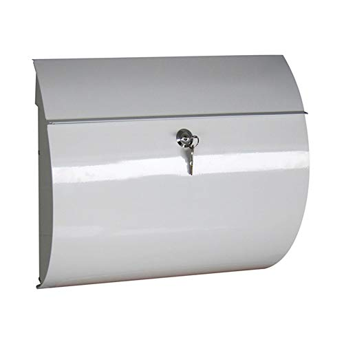 JTYX MAILBOXES aan de muur bevestigde brievenbus met slot outdoor metalen brievenbus Villa Home waterdicht winddicht brievenbus