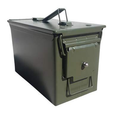 Army Force Gear Ammo Box Can Lock Hardware Kit .50 Cal, Fat...