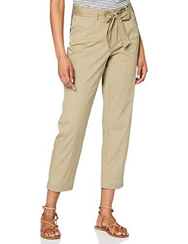 BRAX Style Melo Pantaloni Eleganti da Uomo, Khaki, 34 Donna
