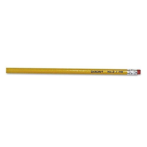 Dixon Woodcase Pencil, HB #2 Lead, Yellow Barrel, 144ct.