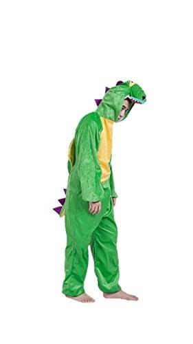 Disfraces de Animales Adultos Unisex Pijamas Traje de Disfraces Cosplay Onesies (Dinosaurio)