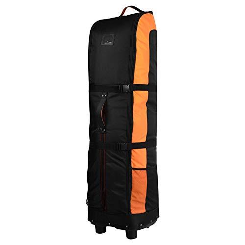 Leichte Golftasche Golf Reisetasche Urlaub Golf Luftfahrt Tasche Verdickt Golf Airbag Flugzeug Check Bag Faltbare Mit Flaschenzugbeutel Für Frauen Männer ( Farbe : C5 , Größe : 141*38*31cm )