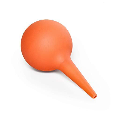 Timoo Ear Syringe 30ml Hand Bulb Syringe Ear Washing Squeeze Bulb for Kids Adults