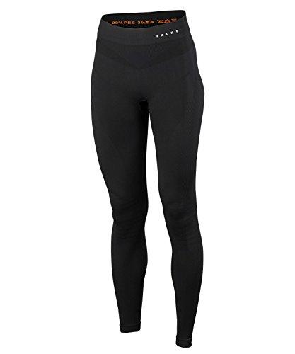 FALKE Damen Tights Maximum Warm Long, High Waist Leggings aus Funktionsfaser, 1 Stück, Schwarz (Black 3000), S
