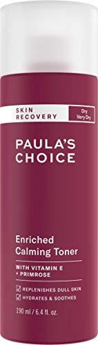 Paula's Choice Skin Recovery Rijke Toner - Kalmeert & Voedt een Rode en Gevoelige Huid - met Vitamine E - Droge Huid & Rosacea-gevoelige Huid - 190 ml