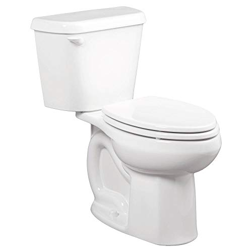 American Standard 221CB104.020 Colony 1.28 GPF 2-Piece Elongated Toilet with 10-In Rough-In, White