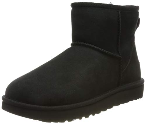 Deckers Europe Ltd trading as UGG UGG Damen Classic Mini II Stiefeletten, Schwarz (BLACK), 39 EU