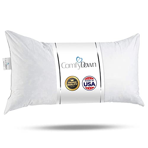 14x20 Decorative Throw Pillow Insert, Down and...