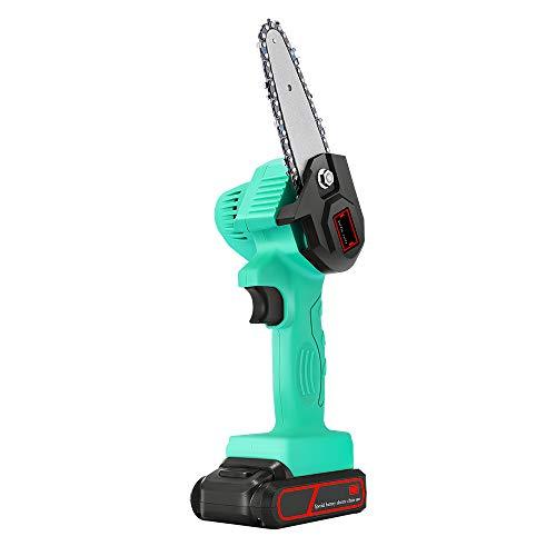 SEAAN Mini Sierra de podar eléctrica, cortadora de Ramas Recargable inalámbrica de...