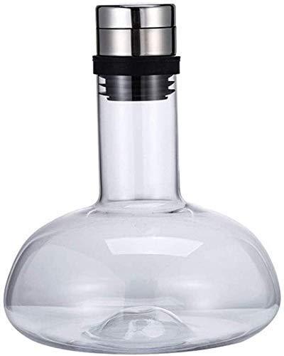 Decantador de whisky Decantador de vino tinto, copa de cristal de la garrafa, regalo de vino de cristal sin plomo, para accesorios de vino vasos whisky cristal RVTYR