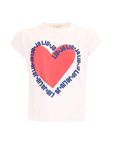 Camiseta con corazón estampado Liu Jo blanco 166 cm(16 años)