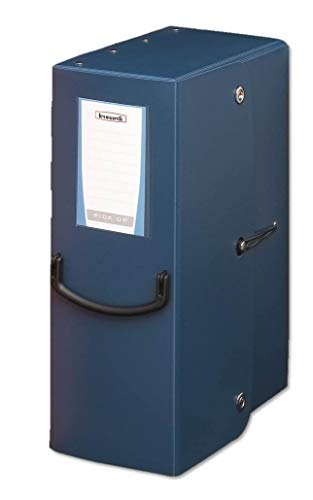 Fellowes Leonardi - 40272 - Portaprogetto Pick Up Box in Trilex 2 mm dorso 16 chiusura 2 Bottoni pes