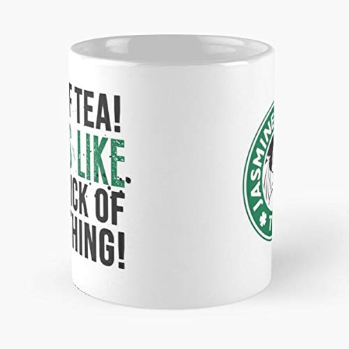 Fine Zuko Avatar Tea Cote Last Iroh Citas, The Dragon Jasmine Airbender Uncle Best Taza de café de cerámica de 315 ml, con frase en inglés 'Eat Food Bite John Best 11 oz'