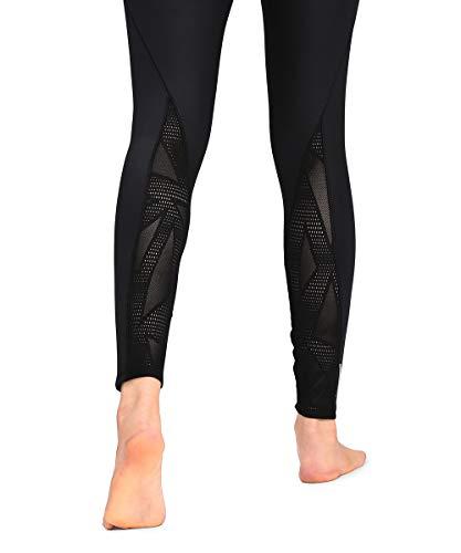 PUMA Damen Leggings Studio Lace High Rise 7/8 Tight, Puma Black, S, 519511