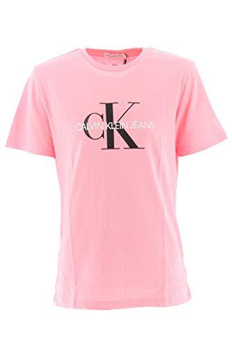 Calvin Klein Camiseta Niña Kids Monogram Logo - Rosa - Rosa, 12Y