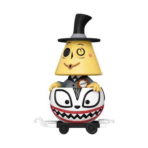 Funko- Pop Disney: Nightmare Before Christmas Train-Mayor in Ghost Cart Figura da Collezione, Multicolore, 50634