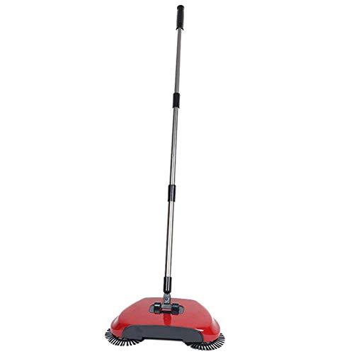 Home Style Spin Broom Manual Floor Sweeper Push Spin Broom Rotating 360 Degrees Random Color Shipped