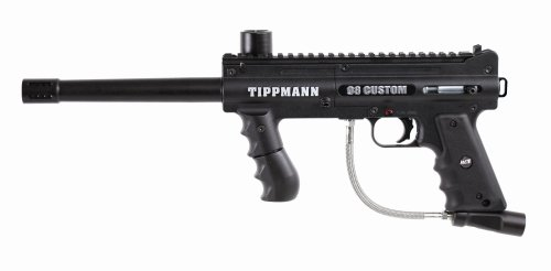 Tippmann 98 Custom Platinum Series .68 Caliber Paintball Marker with ACT , Black