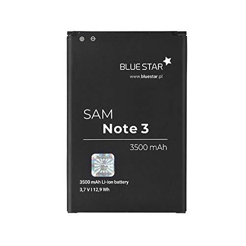 Blue Star Premium - Batería de Li-Ion litio 3500 mAh de Capacidad Carga Rapida 2.0 Compatible con el Samsung Galaxy Note 3