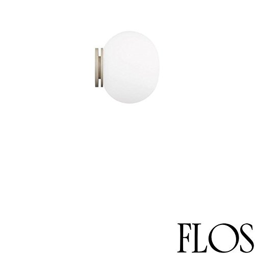 Flos Mini Glo-Ball C/W wandlamp wit glas F4194009 Jasper Morrison 2002