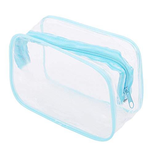 ARR Creative Panda Sac de maquillage en PVC imperméable et transparent
