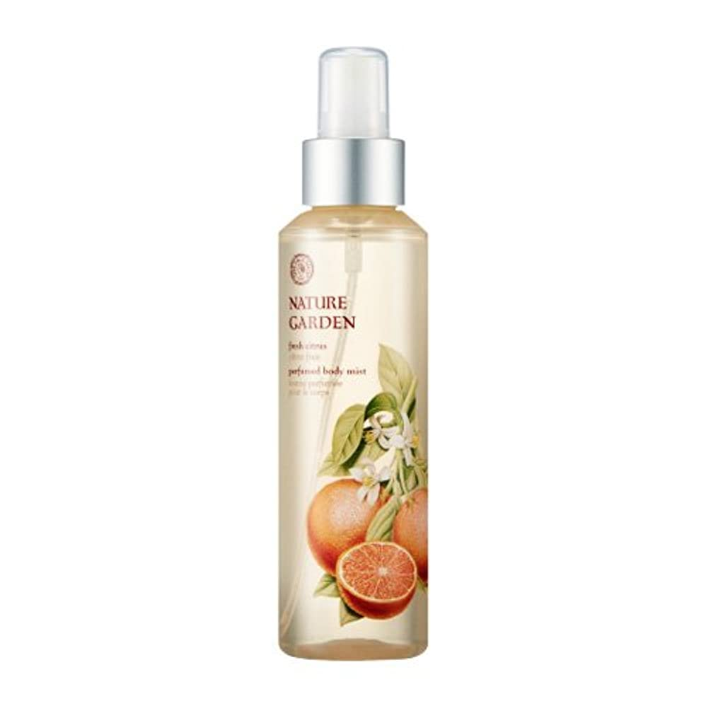 学生高く崇拝するTHE FACE SHOP NATURE GARDEN (Fresh Citrus) Perfume Body Mist 155ml / ザ?フェイスショップ ネイチャーガーデン パフューム ボディミスト [並行輸入品]