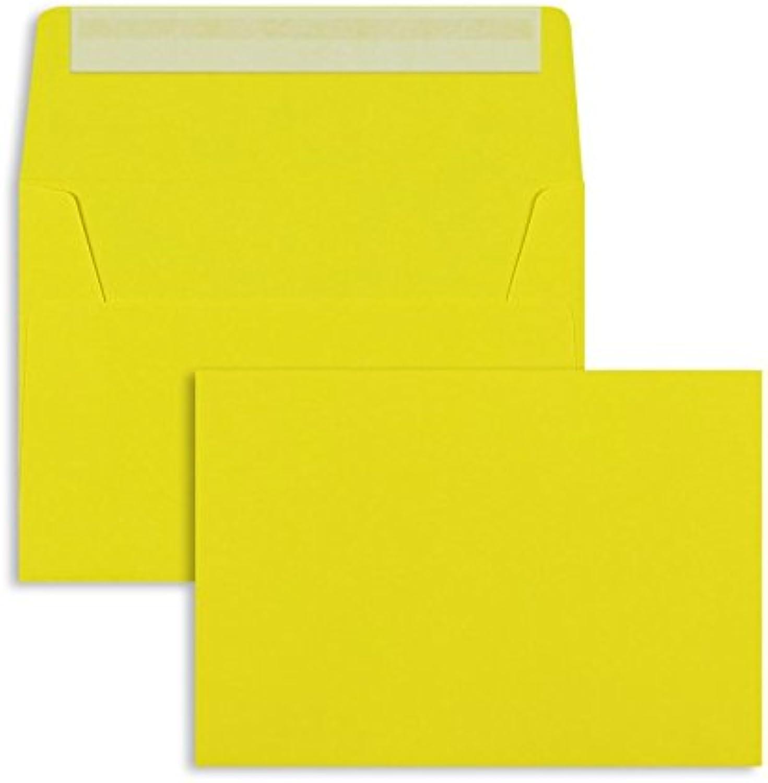 Farbige Briefhüllen   Premium   114 x 162 mm (DIN C6) Gelb (250 Stück) mit Abziehstreifen   Briefhüllen, KuGrüns, CouGrüns, Umschläge mit 2 Jahren Zufriedenheitsgarantie B00FPO1GHC | Schön und charmant