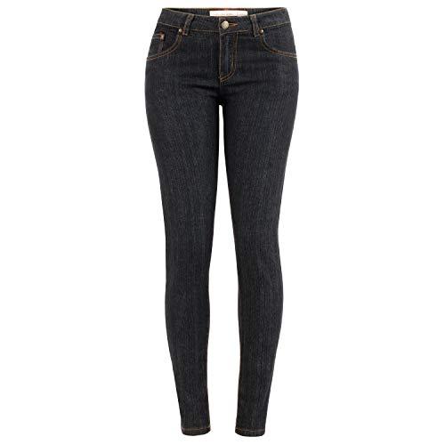 Altatac Juniors Skinny Jeans Stretch Denim Designer Fashion Pants for Girls - Black, Size 3