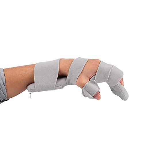 Handmatige splint polsbandage, verstelbaar toetsenbord, vaste polssteun, ondersteuning na operatie. right