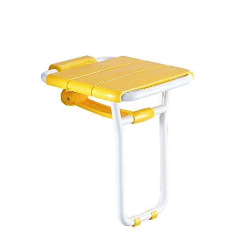 ZWJ-Duschhocker Badezimmer-Klappdusche-Wand-Schemel-älterer Bad-Stuhl Mit Den Beinen, Tragendes Gewicht 150kg