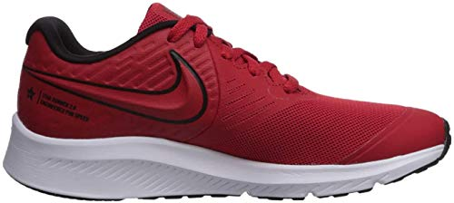 Nike Star Runner 2, Zapatillas de Trail Running Unisex niño, Rojo (University Red/Black/Volt 600), 36 EU