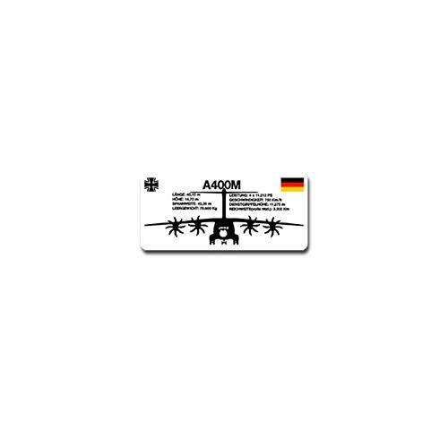 A400M Front Aufkleber Sticker Bundeswehr Luftwaffe Luftstreitkräfte 10x5cm#A4156