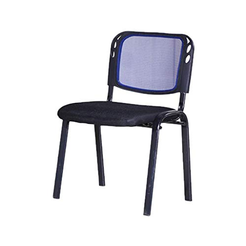 QLIGAH Klassenzimmerstuhl, Stapelbar, Leicht Zu Reinigen Empfangsstuhl Ruht Bequeme Sitz Dauerhafter Tragbarer Hausstuhl Einfach