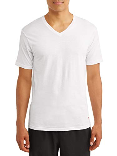Ecko Unltd. Men's 3 Pack of v Neck t-Shirts| Super Soft Ring Spun Cotton| 100% Cotton | White