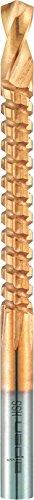 alpen HSS universal-taladro fresado, TiN recubierto, diámetro 8 mm, 72100011100