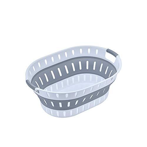 KX-YF Cesta de lavadero Creativa Plegable for la Ropa Sucia sucios Inicio...