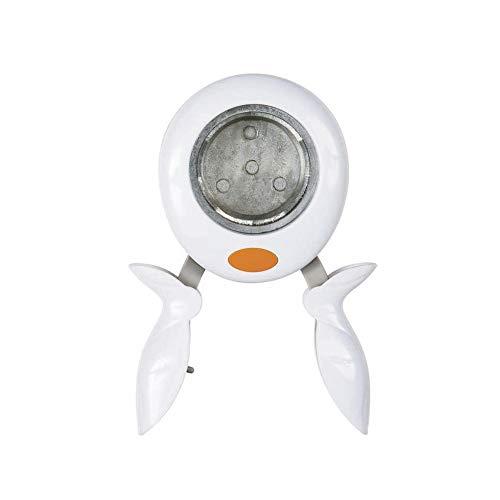 Fiskars Perforatrice Squeeze Punch, Cercle, Ø 5 cm, Pour Droitiers et Gauchers, Acier/Plastique, Blanc/Orange, XL, 1003886