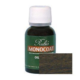 Rubio Monocoat Oil Plus 2C-A Sample Wood Stain Charcoal 20ml