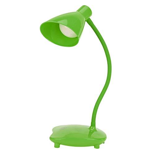 BoBoLily Lámparas de mesa, luz nocturna LED, lámpara de escritorio de 7 W, lámparas de estudio, luces de noche de intensidad regulable (verde)